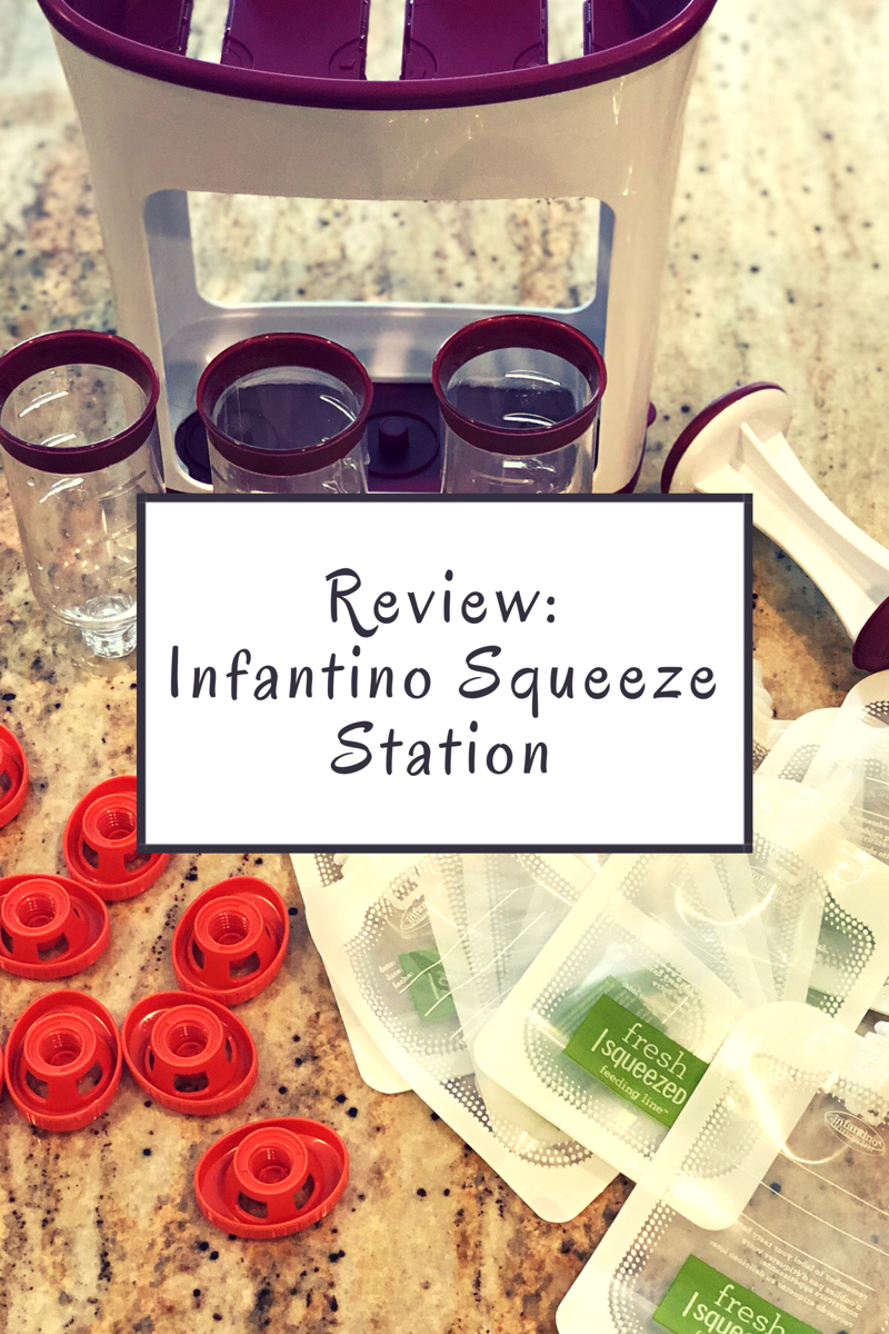 infantino squeeze station